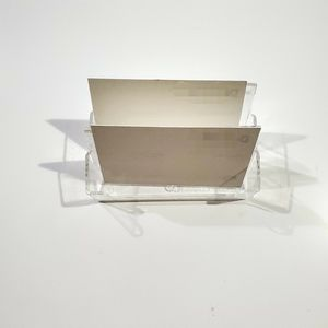 Clear Plastic Card Holders